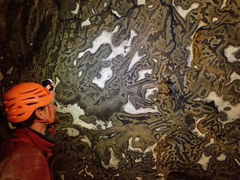 Merveilles souterraines en Patagonie
